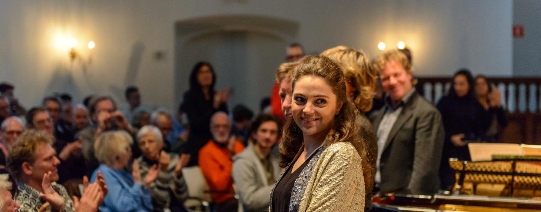 Eindapplaus na soloconcerten Martijn Padding (foto Rob Hogeslag)